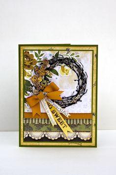 Bee.you.tiful Card - Scrapbook.com