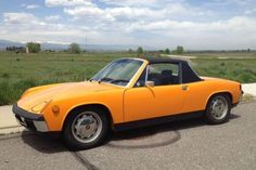 Matching Numbers Driver: 76k-Mile 1970 Porsche 914-6