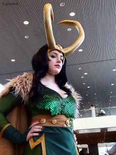 Female Loki Cosplay