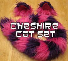 custom made ChESHIRE CaT sET CostumE using NEW by MsKittysCloset, $45.00