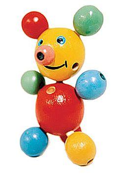 Wooden Micki toy
