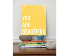 You Are Beautiful art print for kids | Cool Mom Picks
