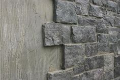 Great way to cover cinder block walls and dress them up- use under house as a trim over fibro, with mesh panel near floors