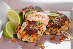 the chew | Recipe  | Mario Batali's Baltimore Grilled Crab Cakes
