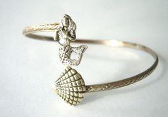 fashion, stuff, wrap bracelets, sea, mermaid bracelet