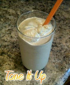 Healthy Peanut butter coffee smoothie