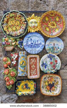 I love Italian pottery