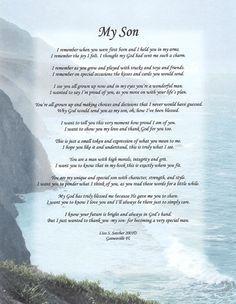 Son | ... Heartwarming Original Inspirational Christian Poetry - Poems ...