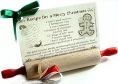 Recipe for a Merry Christmas..