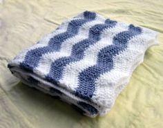 Cool Chevron Baby Blanket
