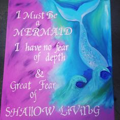 DIY quote canvas with free hand illustration