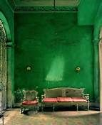 emerald green walls - Bing Images