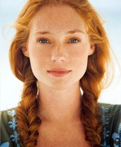 freckl, ginger, red hair, strawberry blonde, braid, beauti, redheads, redhair, natural beauty