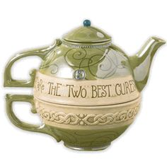 """Irish tea for one """"A good laugh and a cup of tea are the two best cures"""""""