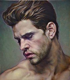 Painting-Man- David 4x3 | Flickr - Photo Sharing!