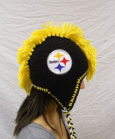 Hey, I found this really awesome Etsy listing at http://www.etsy.com/listing/163341448/crochet-pittsburgh-steelers-football