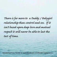Daddy/ babygirl