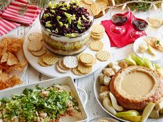 Our Best Holiday Party Dips: Start your holiday celebrations off right with Food Network's best dip recipes that will keep holiday guests dipping for more.
