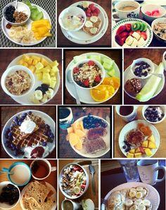 Ideas desayunos saludables #umayor #estudiantes #nutritivo