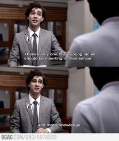 Misfits... Nathan has the best lines in the show!