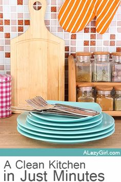 4 Steps to a Clean Kitchen in Just Minutes