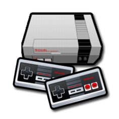 Play all your favorite old NES video games.