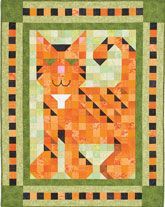 Purr Patch Quilt Kit $54.99 http://www.quiltandsewshop.com/product/quiltmakers-purr-patch-quilt-kit/quilt-kits#