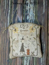 halloween needlework, butter churn, patterns, primit stitcheri, fall
