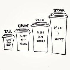 WTF is sleep? #coffee #starbucks