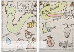 long a, short a activities...perfect for beginning of the year