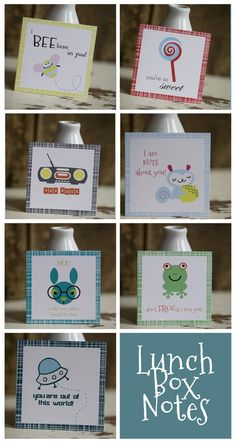 Lunchbox Notes!