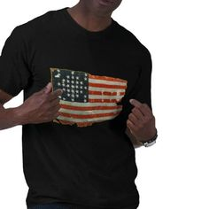 Vintage American Flag Products Tee Shirts