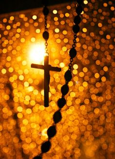 prayer, rosary, blessed