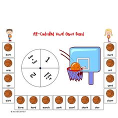 March Maddness R-Controlled Vowel Games