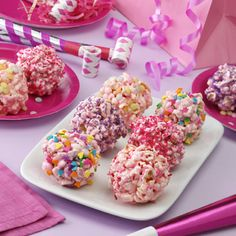 Princess Popcorn Balls Recipe from Shelly