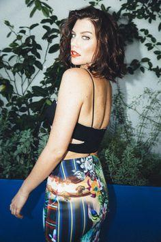 Lauren Cohan in Nylon Guys magazine