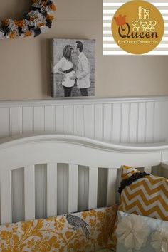 Got my print from Easy Canvas Prints, baby girl's room is slowly but surely coming along!