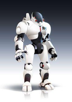 A Robot by javieralcalde.deviantart.com