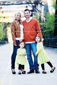 dress for family photos