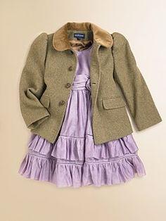 Ralph Lauren - Toddler's & Little Girl's Tweed Jacket