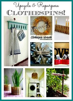 Awesome Ideas for repurposing ordinary clothespins