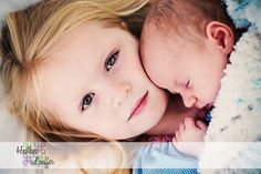 newborn and brother photography | ... baby brother! However, baby brother had to step aside while she showed