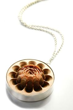 Paper jewellery by Li-Chu Wu