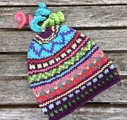 Ravelry: Taima Newborn Topper pattern by Lisa McFetridge