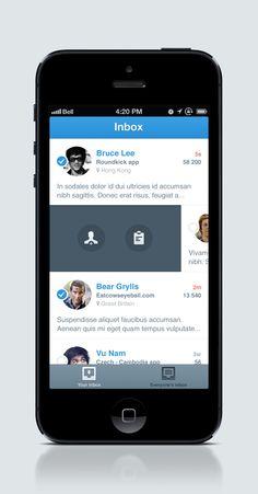 Inboxx / hidden swipe gesture