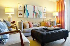 ¿Le ponemos una Otomana al salón o sala de estar?