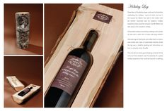 packag, logs, gift ideas, autumn gift, holidays, gifts, wine boxes, wine bottles, holiday log