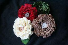 diy ideas, craft flowers, diy tutorial, bow, diy crafts flowers, craft ideas, pleat ribbon, fabric flower, ribbon flower