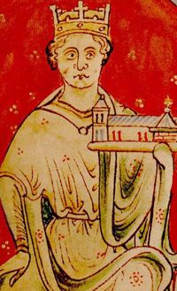John Lackland, King of England, the youngest son of King Henry II by Eleanor of Aquitaine