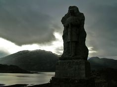 Silent Sentinel by T. Fritschi, taken above Clan Macrae kirkyard in Kyle of Lochalsh, #Scotland gloaming